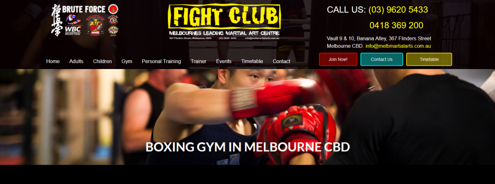 Boxing Classes Melbourne Fight Club Boxing Gym