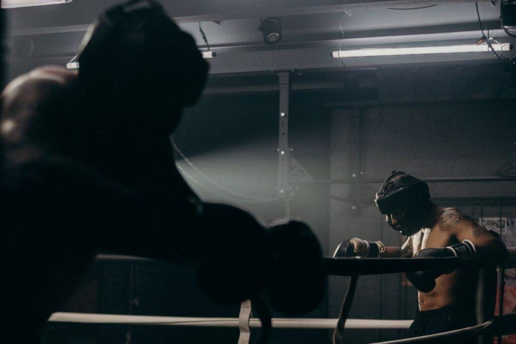 Boxers Preparing Match