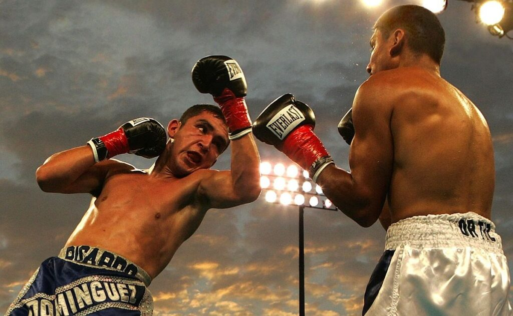 Boxing Match Men