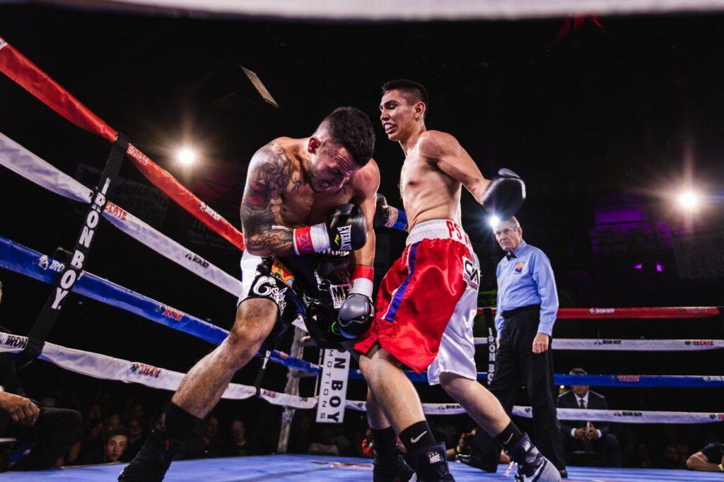 Boxing Match Punch