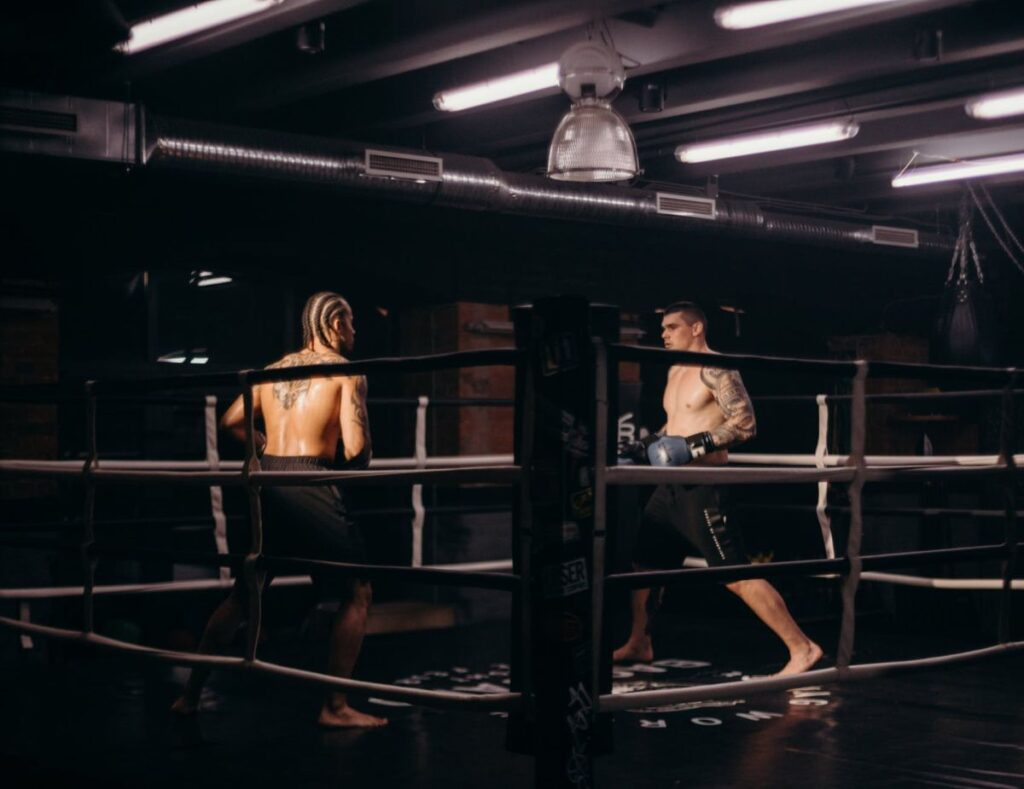 Boxing Sparring Match