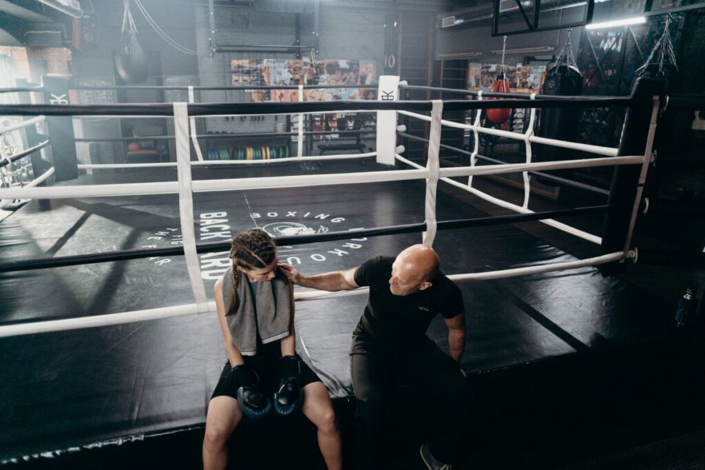 Boxing Trainer Girl