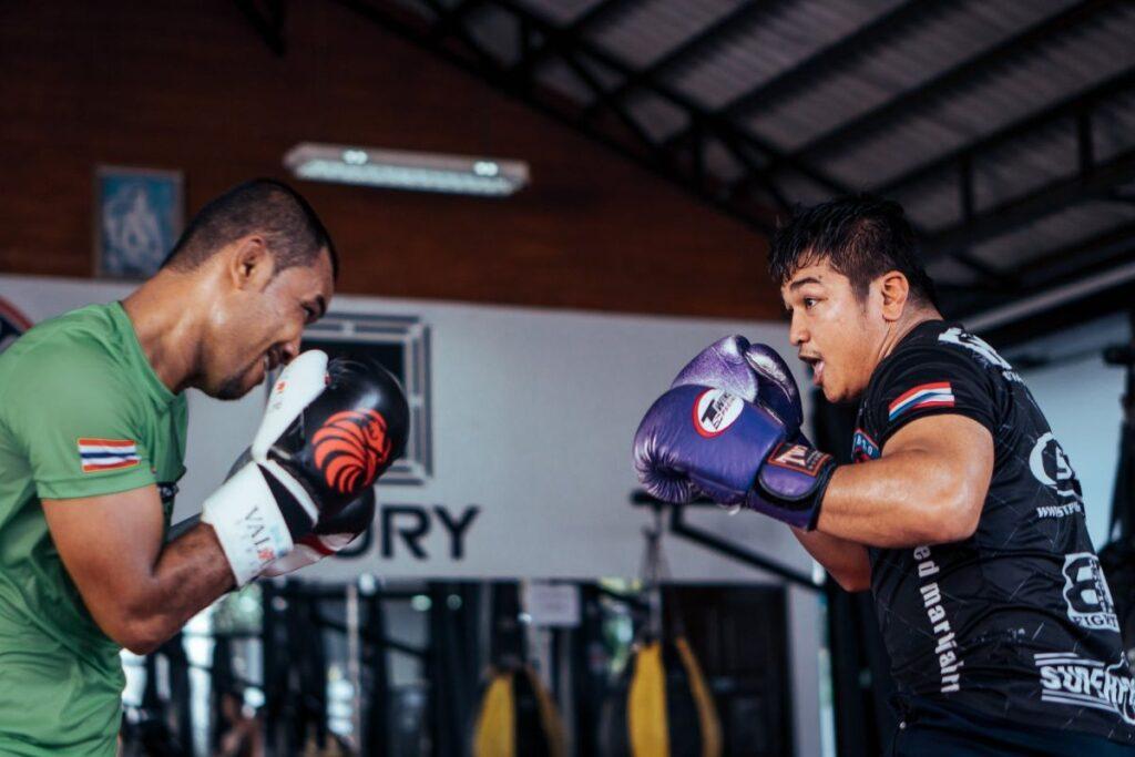 Boxing Training Men
