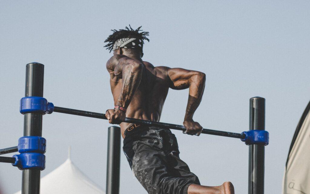 sport man muscle